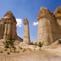 Towering Rock Formations