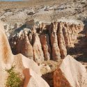 Rock Formations In Rose Valley